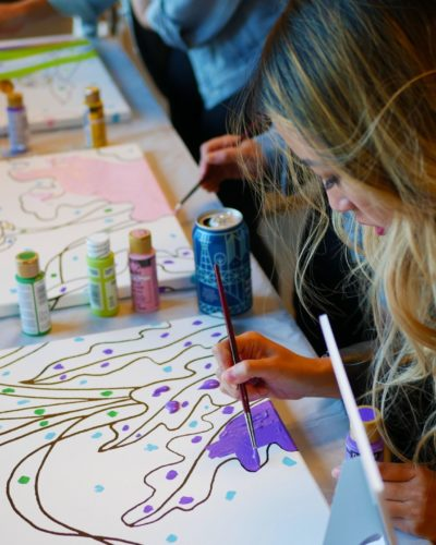 kreative piger