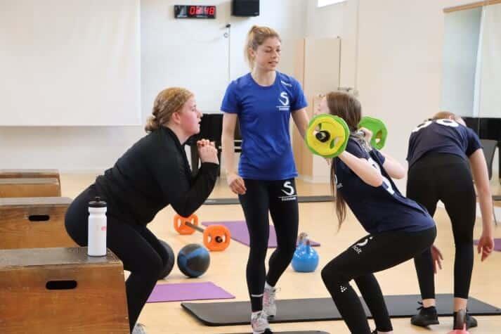 Efterskole med sport for piger